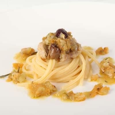 Ricetta Spaghetto Quadrato con salsa di agnello - Ricette con spaghetti - La Molisana