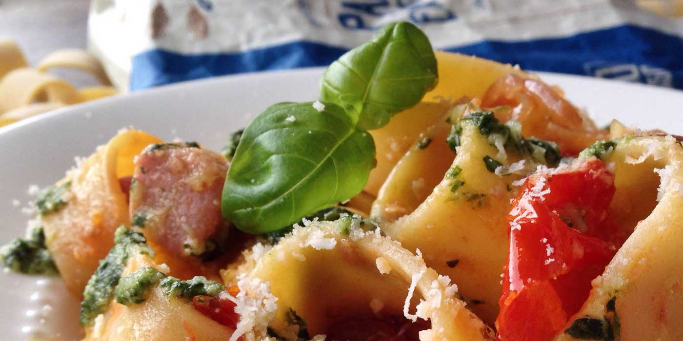Ricetta Calamarata alla Carlofortina - La Molisana