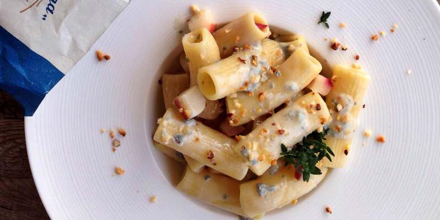 Ricetta Rigatoni con gorgonzola e mela - La Molisana
