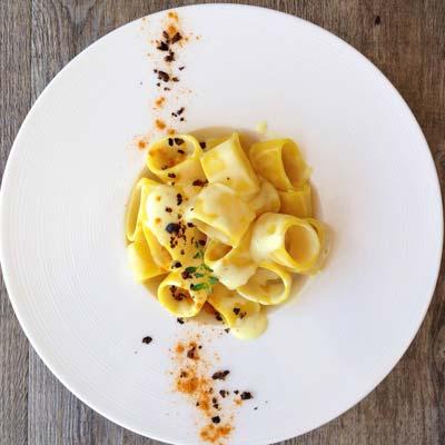 Ricetta Calamarata con Fonduta di Parmigiano e Blend di Spezie - La Molisana