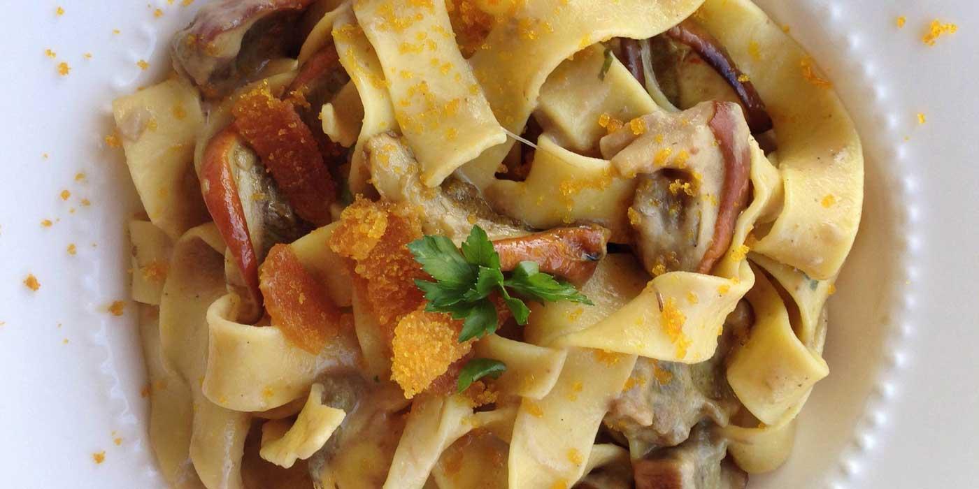Ricetta Pappardelle con porcini e zafferano - La Molisana