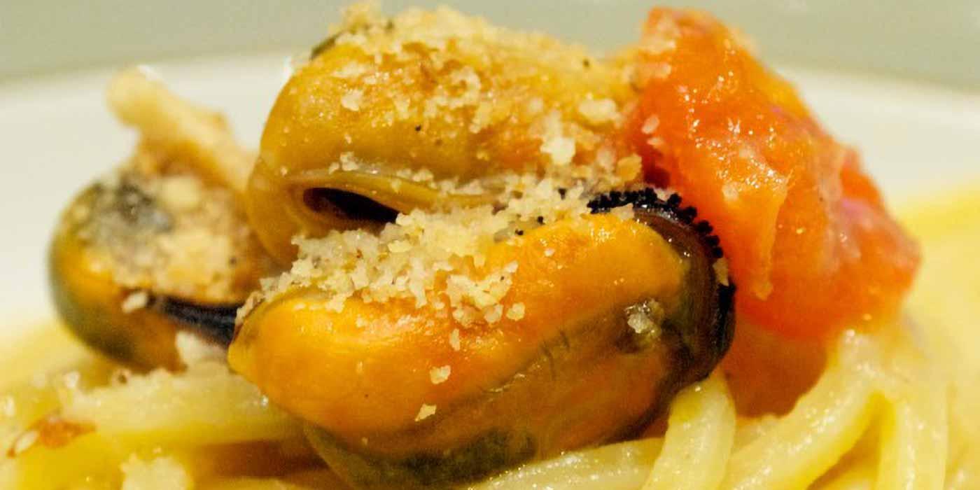 Ricetta Spaghetto Quadrato su vellutata di cannellini e cozze - La Molisana