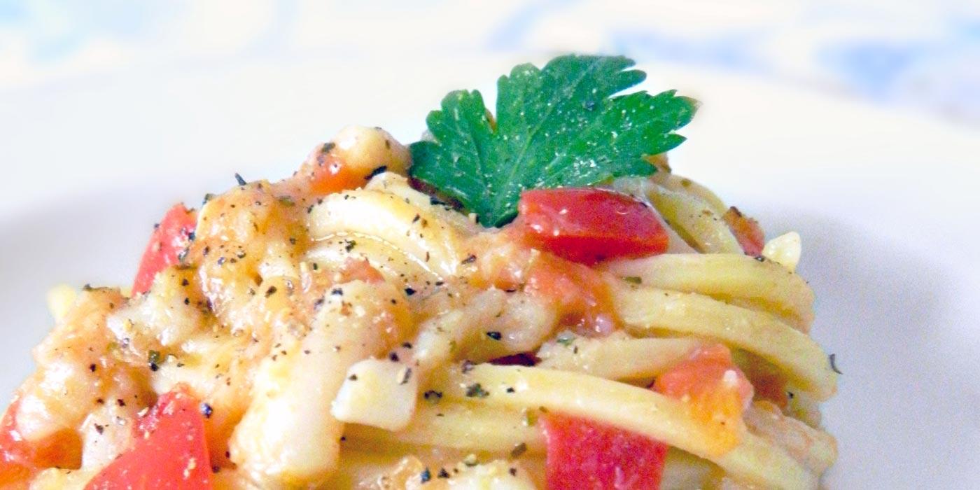 Ricetta Spaghetto Quadrato al sapore di mare e un pizzico di Oriente - La Molisana