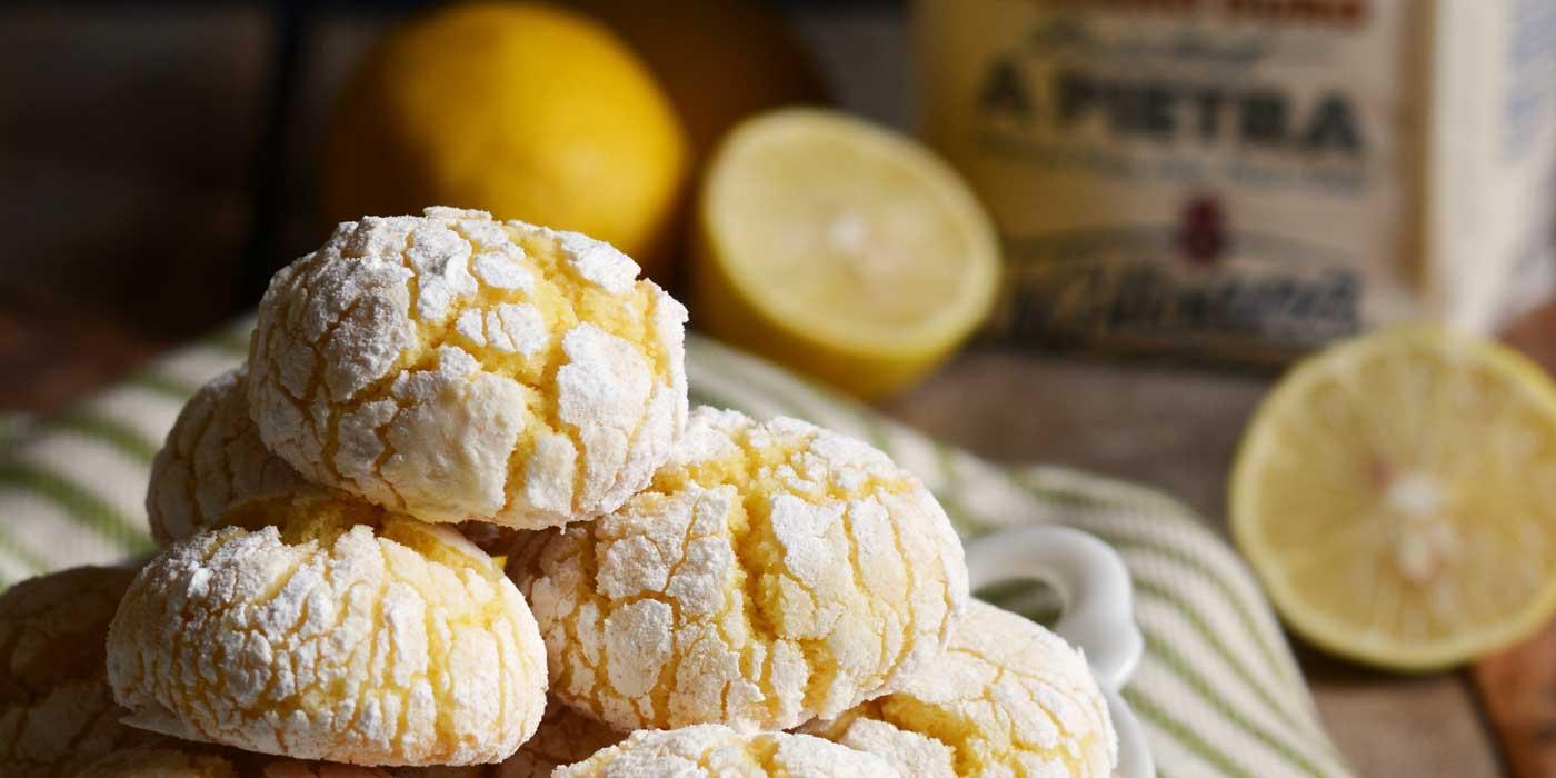 Ricetta biscotti di semola - La Molisana al limone