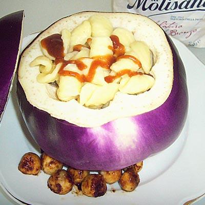 Ricetta Orecchiette pugliesi con lenticchie e melanzane - La Molisana