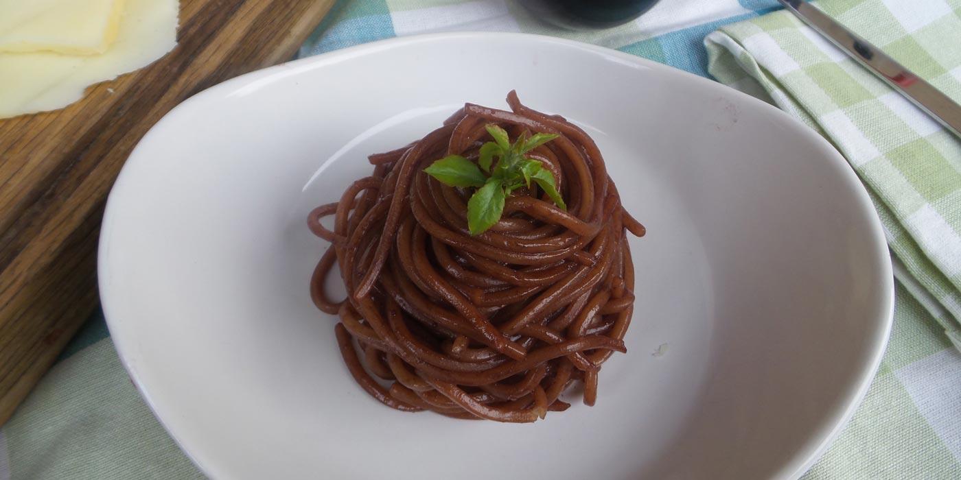 Ricetta Spaghetti risottati alla Tintilia di Vinica - La Molisana