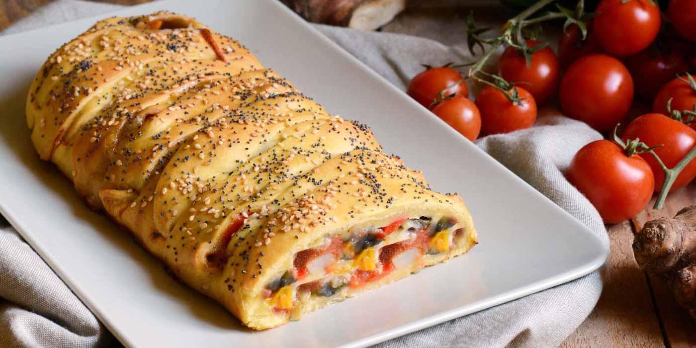 Ricetta Strudel salato con verdure - La Molisana