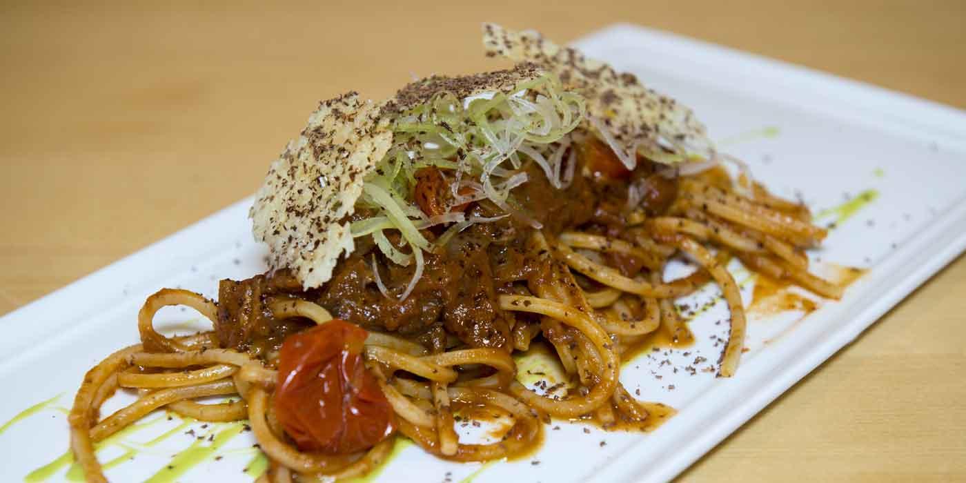 Ricetta Spaghetto Quadrato con coda alla vaccinara - La Molisana