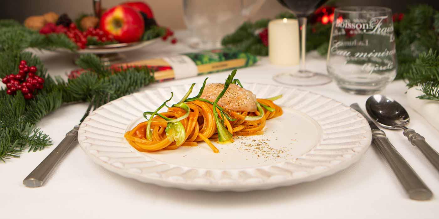 Ricetta Trighetto con bisque di gamberi - La Molisana