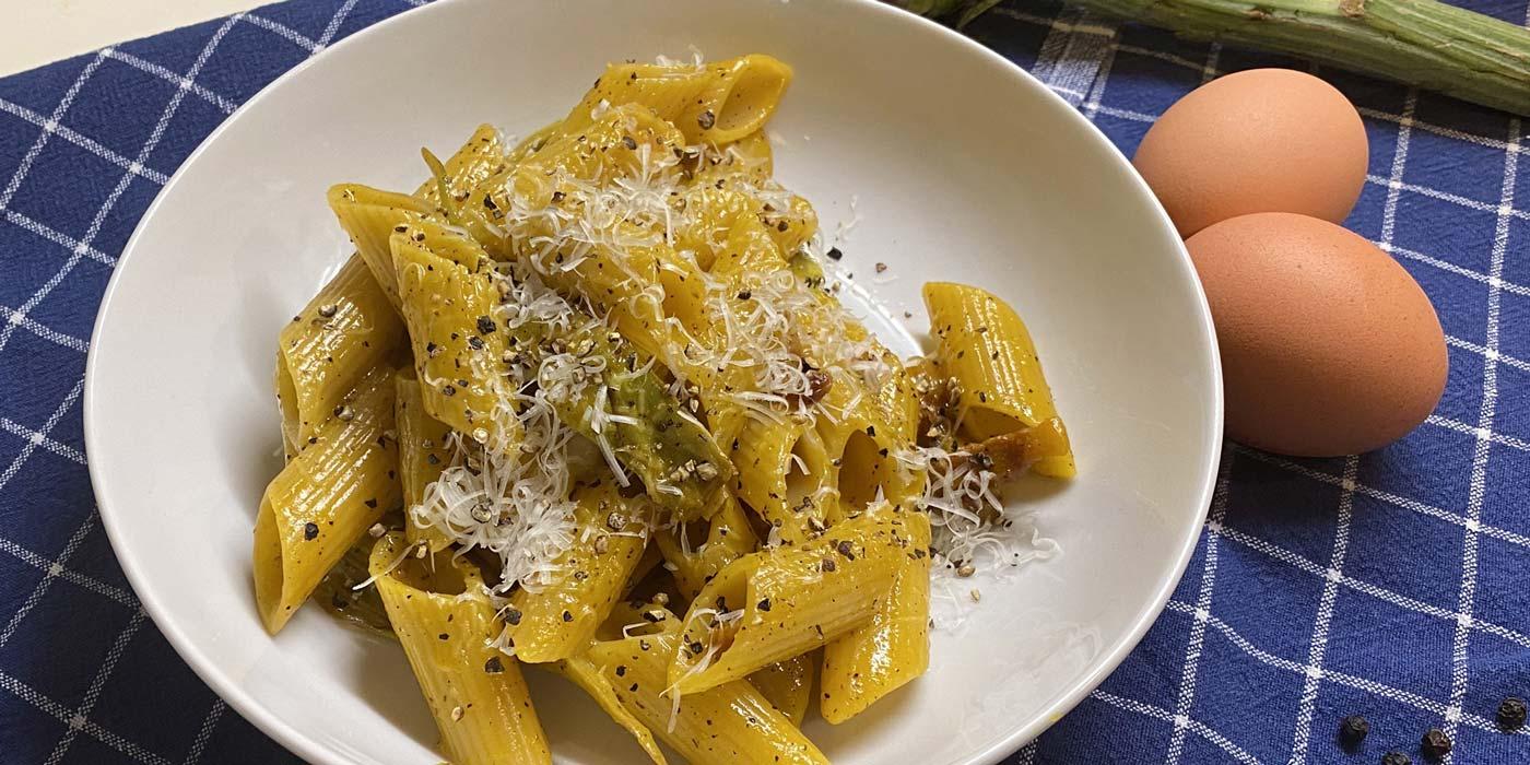 Ricetta Carbonara ai Carciofi - La Molisana