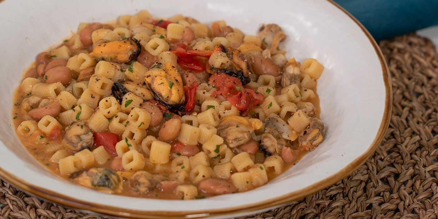 Ricetta pasta e fagioli - La Molisana