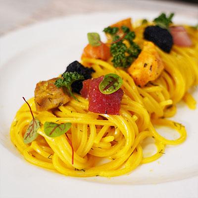Ricetta Carbonara di mare - Chef in camicia - La Molisana