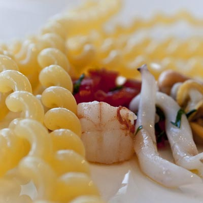 Ricetta Fusilli Lunghi Bucati al sapore di mare