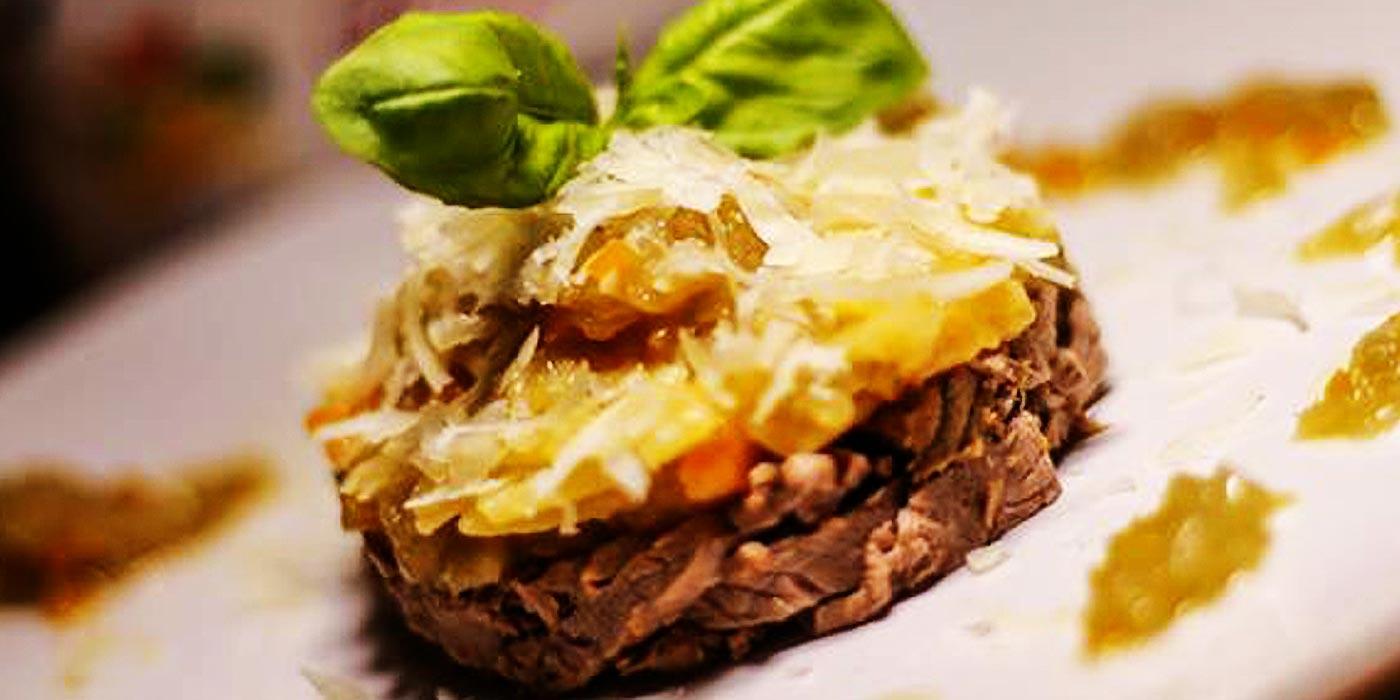 Ricetta Sagnette La Molisana con girello, sedano, carota e cipolla