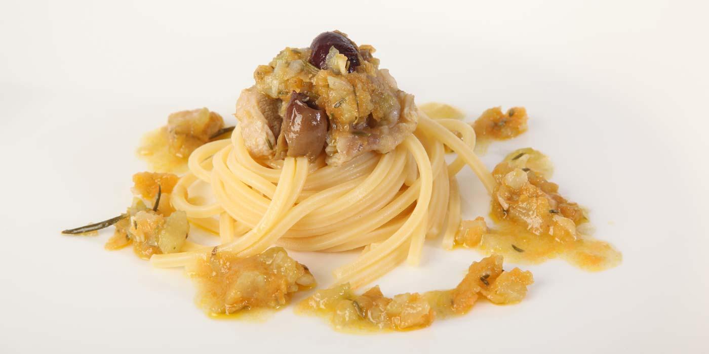 Ricetta Spaghetto Quadrato La Molisana con salsa di agnello