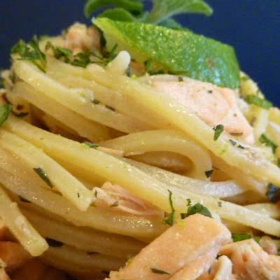 Ricetta Spaghetto Quadrato La Molisana al salmone e mojito