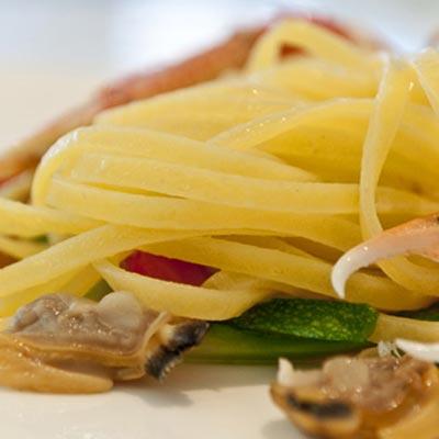 Ricetta Taglierini mare e orto