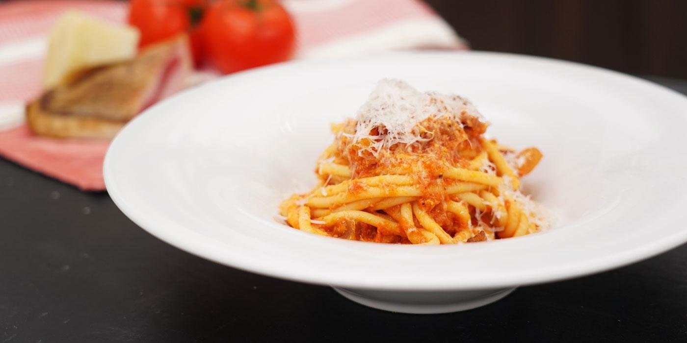 Ricetta Bucatini all'Amatriciana - Chef in camicia - Ricette - La Molisana