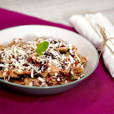 Ricetta Pasta con conserva di bucce di melanzana - La Molisana