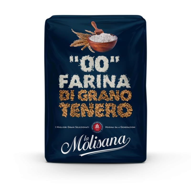 Farina 00 di Grano Tenero - La Molisana