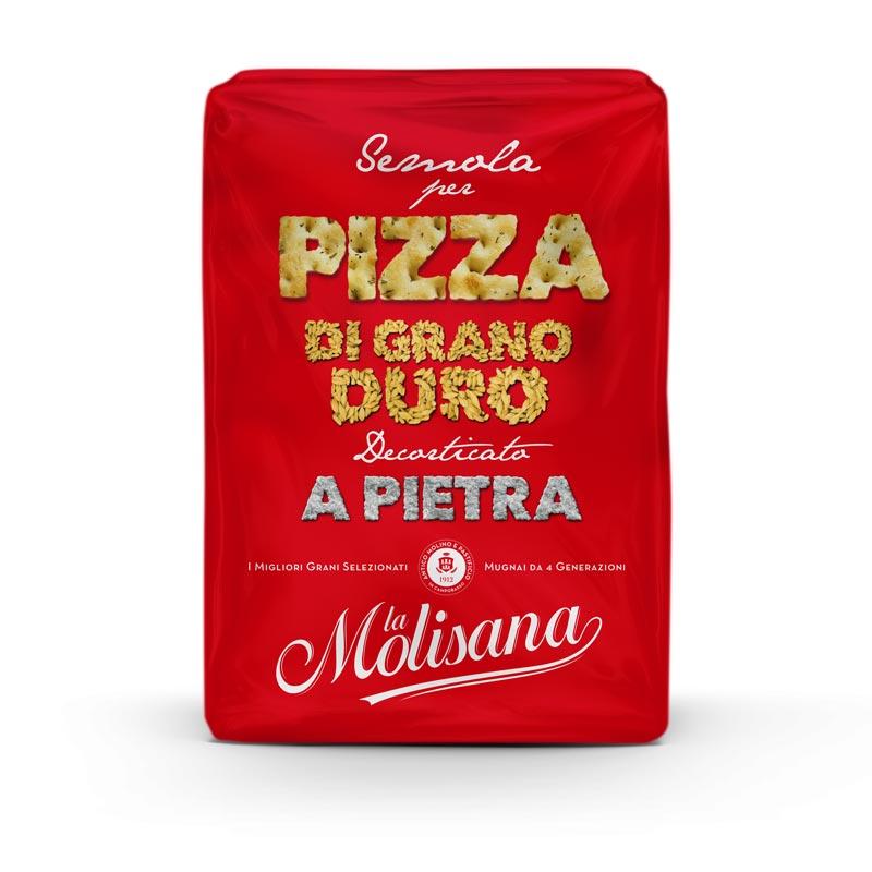 Semola di grano duro per pizza - Le Semole - La Molisana