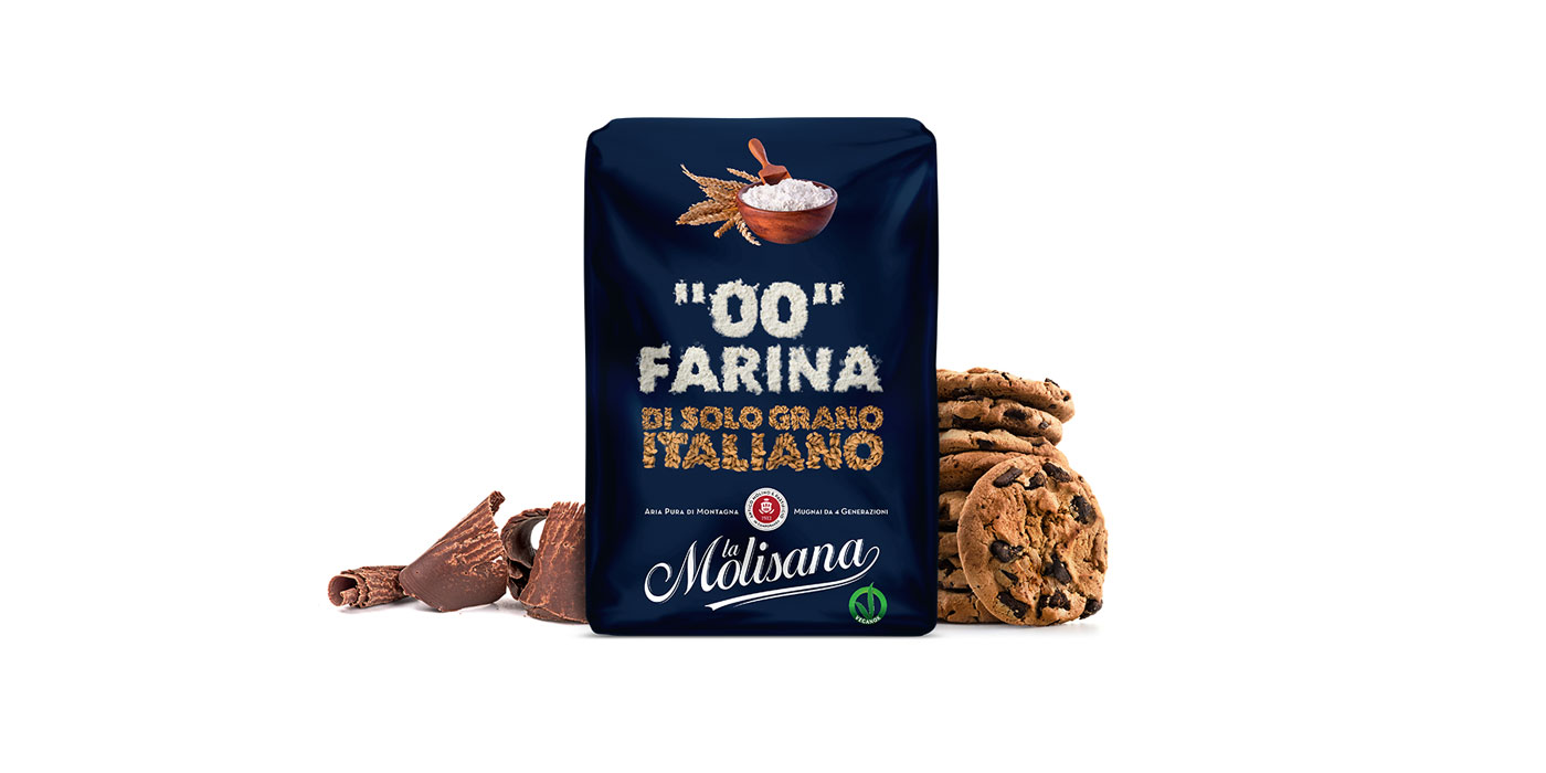 """Farina """"00"""" di grano tenero - Le Semole - La Molisana"""