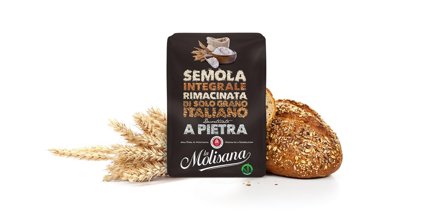 Semola di grano duro integrale - Le Semole - La Molisana