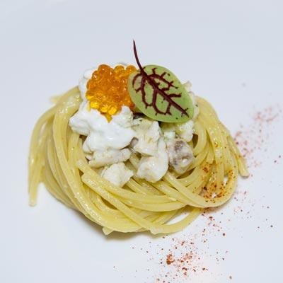 Ricetta Spaghetto Quadrato con cernia e burrata pugliese - La Molisana