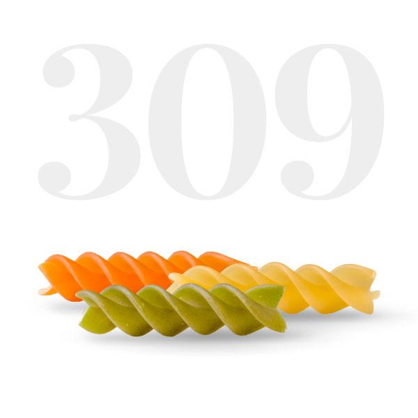 Fusilli tricolore - Pasta La Molisana