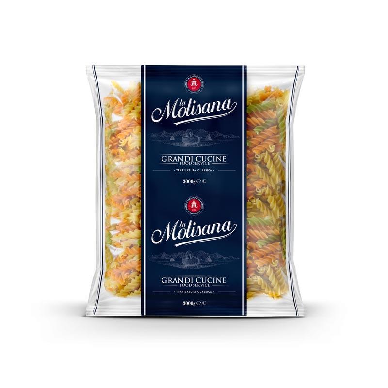 Fusilli Tricolore - Grandi Cucine - Pasta La Molisana