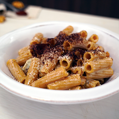 Ricetta Maccheroni integrali al gorgonzola, noci e cacao amaro - La Molisana