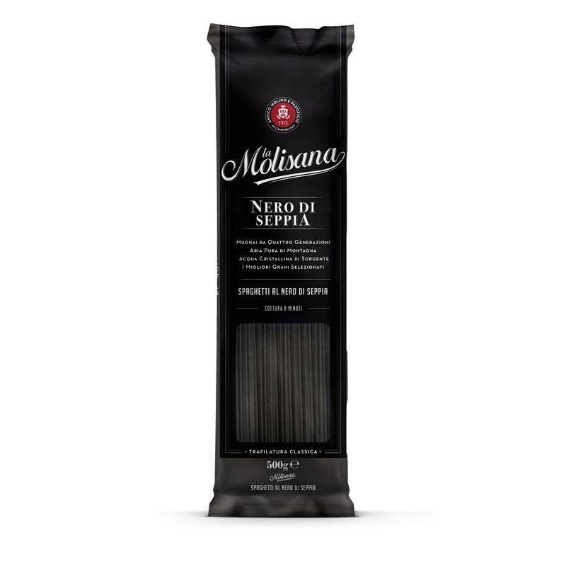 Spaghetti al nero di seppia - Pasta La Molisana